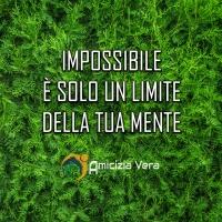 Impossibile è solo un limite della tua mente